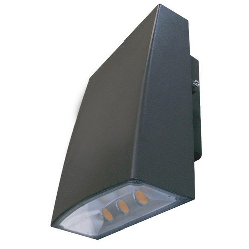 Morris 71393 LED Slim Line Combo Wallpack/Floodlight, 80W, 5000 K, 7371 lm, 120-277V, Bronze