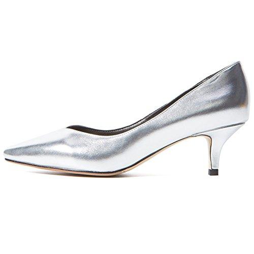DoraTasia Modern Damen Silberfarben