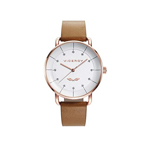 Viceroy Watch 42358-06 Antonio Banderas White Woman Leather