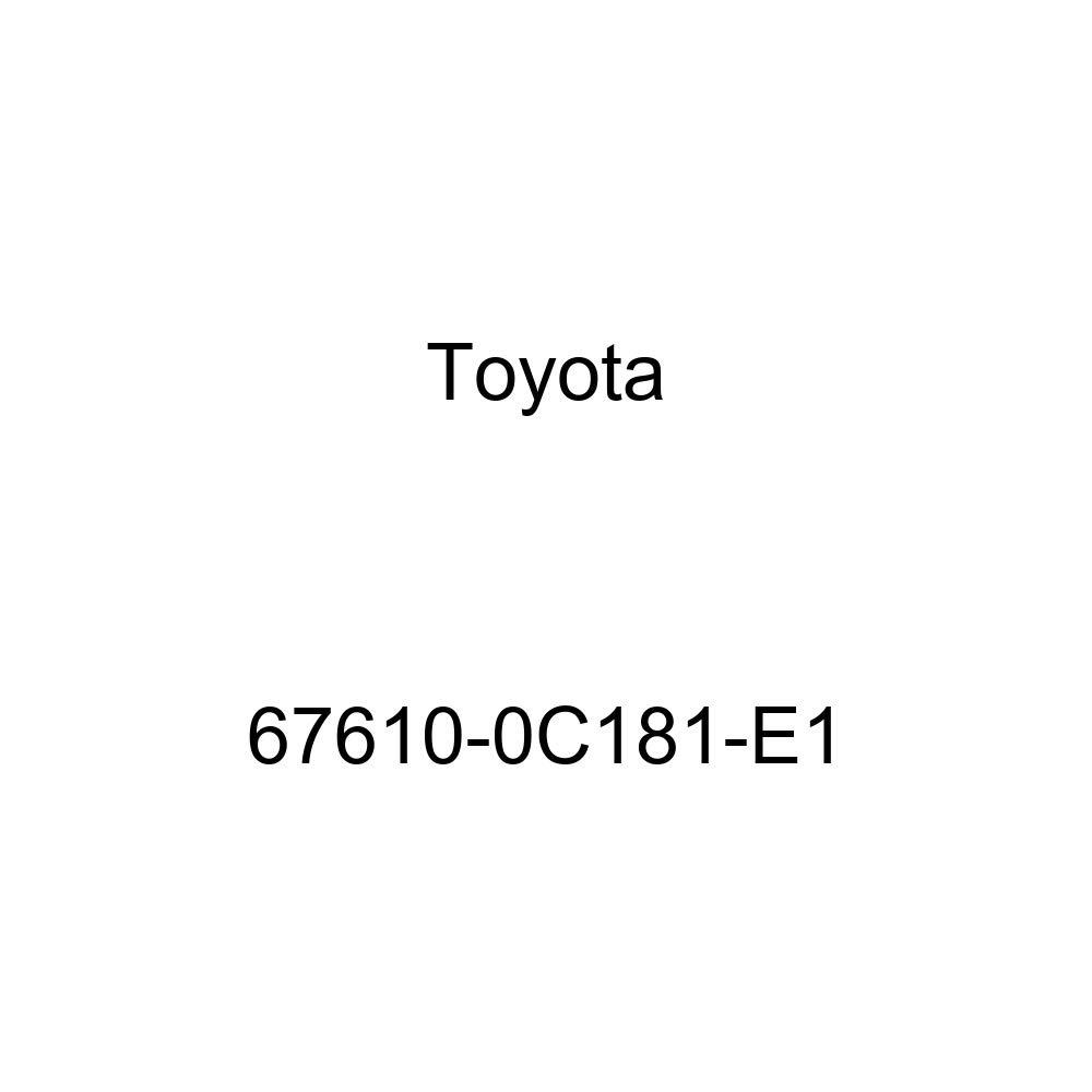 Genuine Toyota 67610-0C181-E1 Door Trim Board