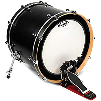 evans emad2 clear bass drum head 20 externally mounted adjustable damping system. Black Bedroom Furniture Sets. Home Design Ideas