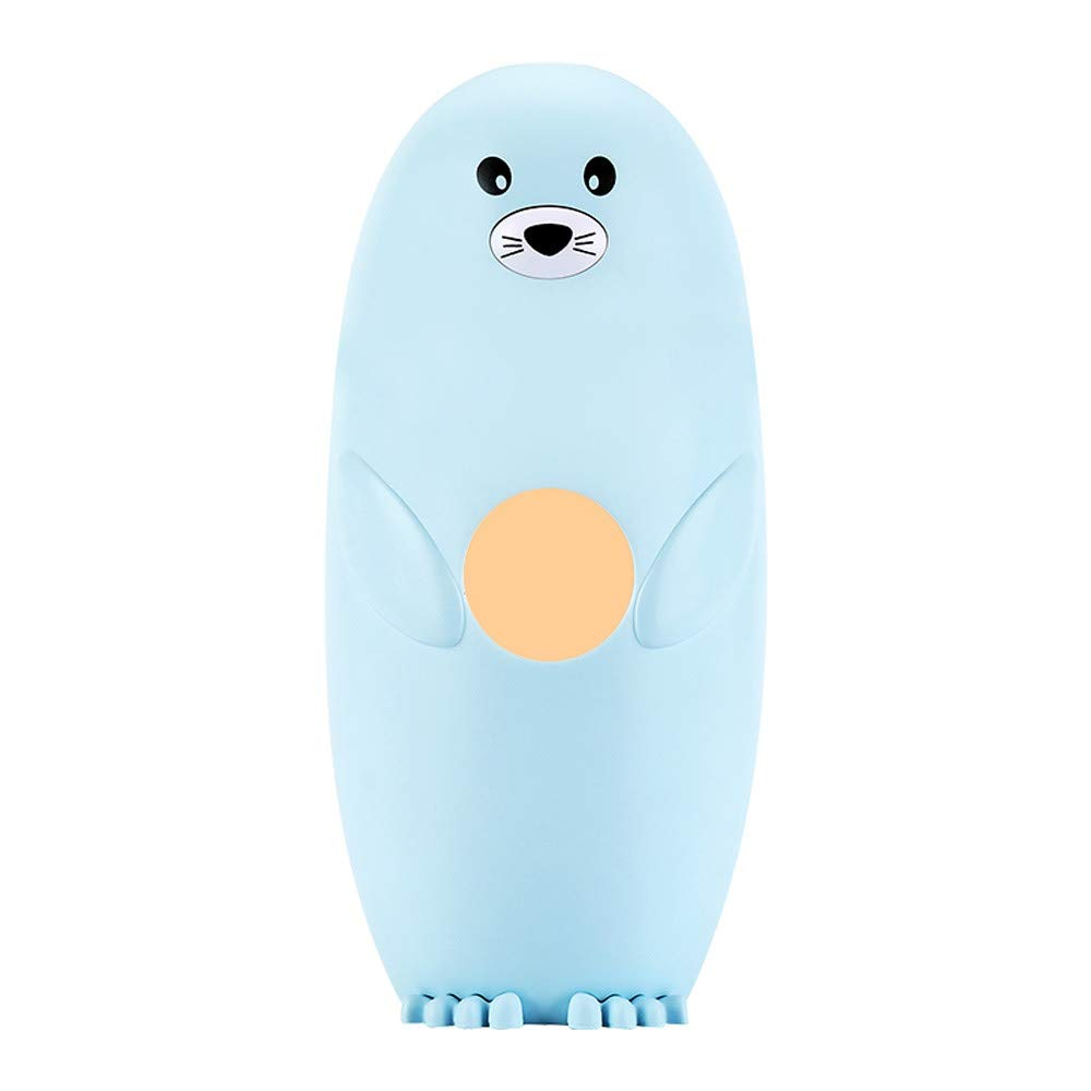 QHB USB Baby Humidifier Air Diffuser Mist Maker, Cute Seal LED Humidifier Desktop Creative Breathed Offers Perfect Portable Solution for Travel, Office, Hotel, Cheap Clearance (BU)