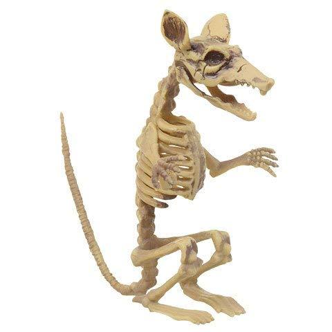 Creepy Rat Skeleton Decoration Prop - Halloween, Graveyard Scene, Haunted House, Costume Accessory]()