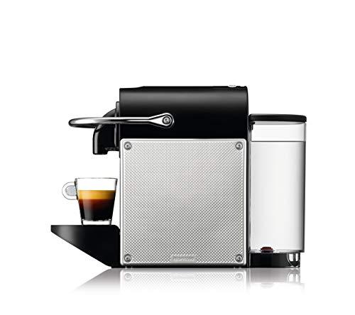 De'Longhi EN 124.S Nespresso Pixie EN124.S Macchina per caffè Espresso, 1260 W, Plastica, Argento, 0.7 Litri, Metallo 5