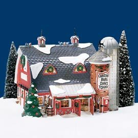 Department 56 Snow Village ''Christmas Barn Dance'' by Department 56