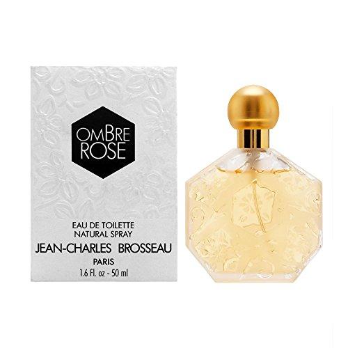 - Jean Charles Brosseau Ombre Rose Eau De Toilette Spray for Women, 1.7 Ounce