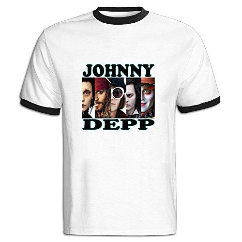 [JAX Men's Classical JD Character Sport Short T-shirt Black L] (Kate Upton Halloween Costume)