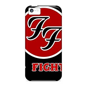 Anti-Scratch Hard Cell-phone Case For Iphone 5c (pwp3643weRH) Support Personal Customs Stylish Foo Fighters Pattern