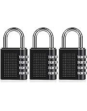 Combination Padlock, Diyife 4 Digit Locker Lock Weatherproof Lock Outdoor Combination Lock