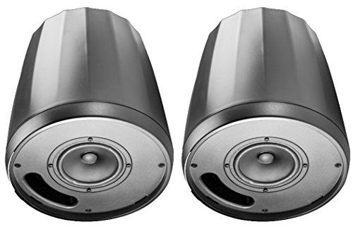 (JBL C64P/T Compact Full-Range Hanging Pendant Loudspeaker, Black (sold as pair) )