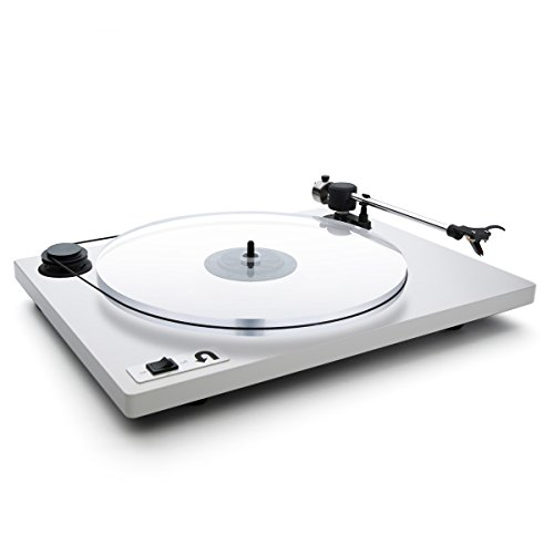 U-Turn Audio - Orbit Plus Turntable with built-in preamp (White)