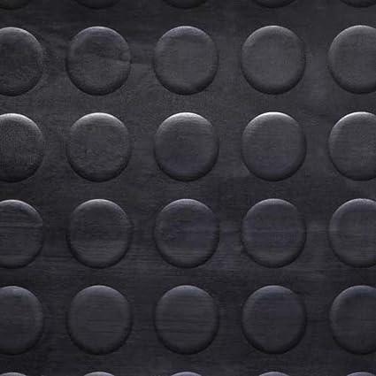 taller gimnasio 3m de largo estable Placa de Cuadros de rollo 1.5 m de ancho Parque etc 3mm de espesor alfombrilla para suelos de seguridad para garaje Piso de goma antideslizante