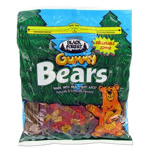 Gummi Bears - Black Forest, 5 - Forest Bears Black Gummi