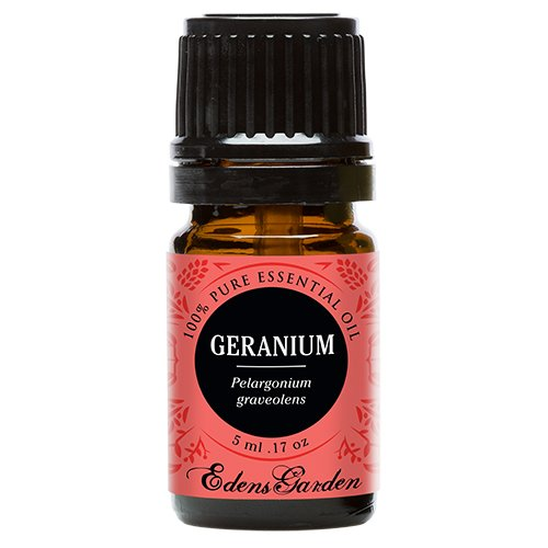 Geranium 100% Pure Therapeutic Grade Essential Oil by Edens Garden- 5 ml