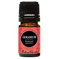 Geranium (Bourbon) 100% Pure Therapeutic Grade Essential Oil by Edens Garden- 5 ml