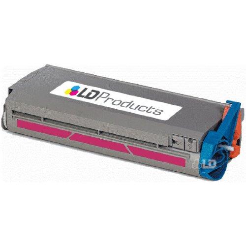 LD Okidata Remanufactured 41304206 Magenta Type C2 Laser Toner Cartridge