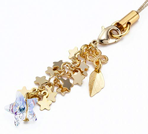 Kisaragi Cell Phone Strap 042 Star- Crystal Aurora (Gold Court) from Kisaragi