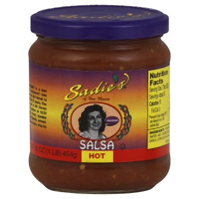 Sadie Salsa Hot 16 oz (Pack Of 12)