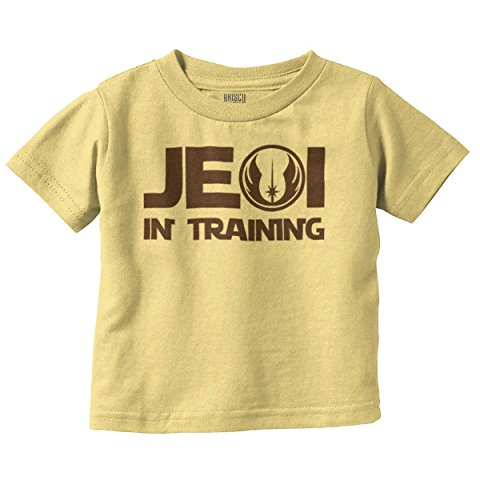 Brisco Brands Jedi Master Cool Galaxy Darth Nerdy Geeky Toddler T Shirt (Baby Masters Clothes)