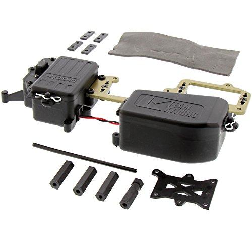 Battery Kyosho (Kyosho 1/8 Inferno MP9 TKI3 RS Receiver & Battery Box, Radio Plate Linkage)