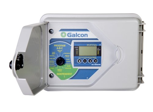 - Galcon 800248 AC-24 8-Station Modular Irrigation, Fertigation and Low Voltage Lighting Controller, Expandable To 24 Stations