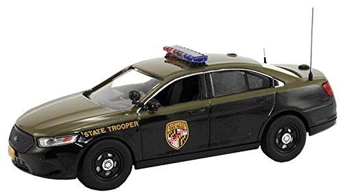 1/43 フォード トーラス インターセプター メリーランド州警察 (ダークグリーン×ブラック) FR-FDS-101