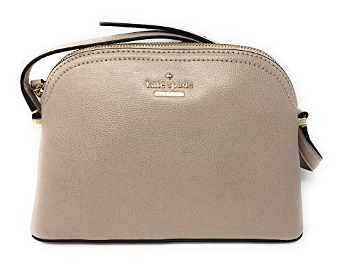 Kate Spade Peggy Patterson Drive Leather Crossbody Bag Warm Beige