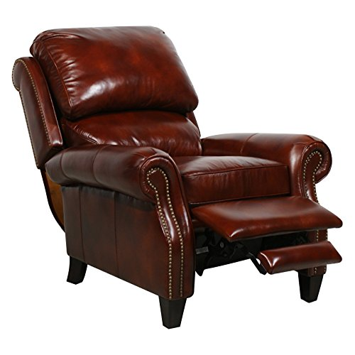 Barcalounger Leather Power Recliner | Churchill 7-4440 (Series Leather Recliner)