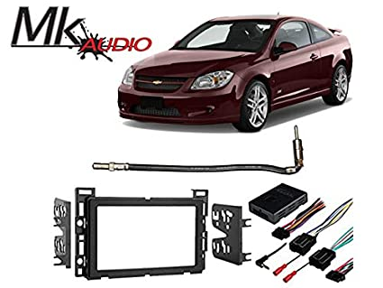amazon com mk audio fits chevy cobalt 2007 2010 double din install car stereo on a chevy cobalt