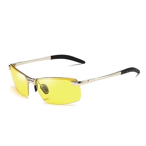 L.L.QYL Gafas Gafas de Sol de visión Nocturna Gafas de Sol ...