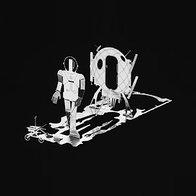 Mini Scene Table Decoration Metal Micro Man Mars: Amazon.co.uk ...