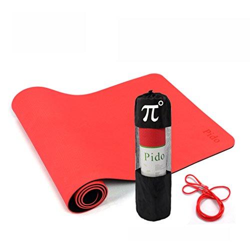 Tapis de yoga, Thick Tapis de fitness anti-dérapant ( Couleur : #1 , taille : 6mm )