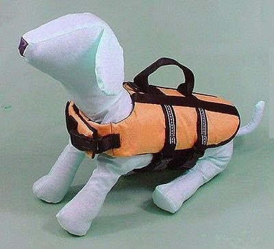 FidgetGear Pet Dog Puppy Swimming Fishing Life Jacket Preserver Safety Vest XXS XS S M L S