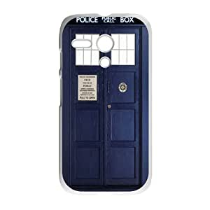 Doctor Who Tardis Police Call Box Covers Cases Accessories for Motorola Moto G