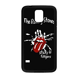 Custom Galaxy S5 Case, The Rolling Stones Snap On Cover Protector TPU For Samsung Galaxy S5 i9600