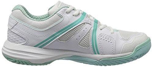Wilson Nvision W Wh - Zapatillas de tenis Mujer Blanco (White / Aruba Blue / Mint Ice Wil)
