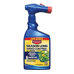 Bayer Advanced 704040 Ready-to-Spray Season Long Weed Control for Lawn, 24-Ounce (Not Sold in NY)