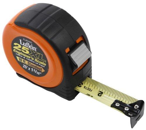 Lufkin Tape,1 3/16X25,Orange Case,Engineers (4 Each) Xl8525D by Apex Tool Group ()