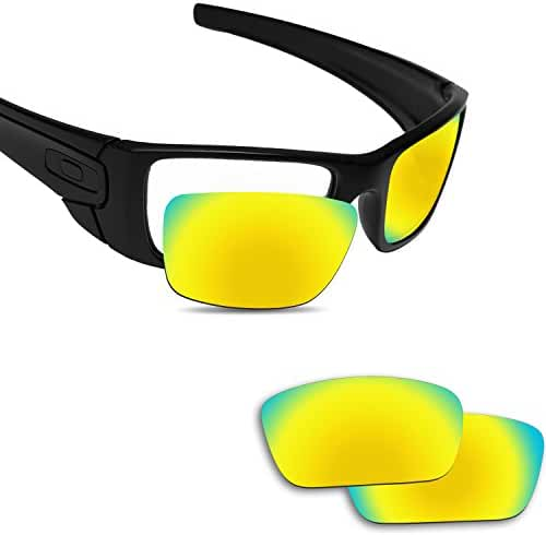 Fiskr Anti-saltwater Polarized Replacement Lenses for Oakley Fuel Cell Sunglasses