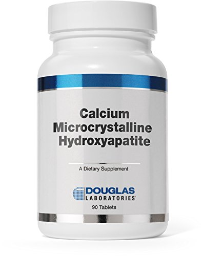 Douglas Laboratories® - Calcium Microcrystalline Hydroxyapatite - Bioavailable Source of Calcium Derived From Whole Bone - 90 Tablets Elemental 90 Tab