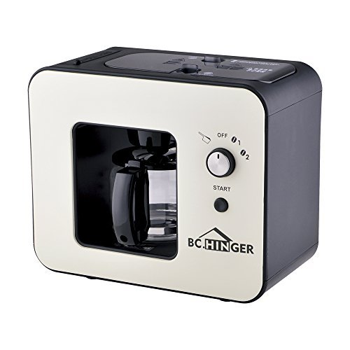 BC HINGER Grind and Brew Automatic Coffeemaker Betterhome