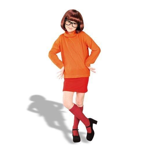 Scooby Doo - Velma Child Costume Large -