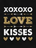 XOXOXO-Love-Kisses-Valentines-Day-Toddler-Girls-Fitted-Long-Sleeve-T-Shirt
