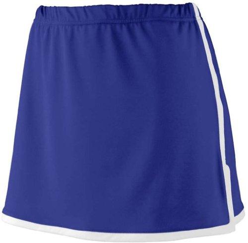 UPC 784371469108, Augusta Sportswear Ladies' Finalist Skort XL Purple/White