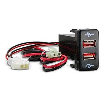 CH4 X 4 Toyota USB enchufe – rojo LED