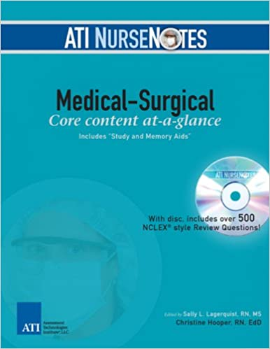 ATI NurseNotes Medical Surgical 9780976006312 Medicine