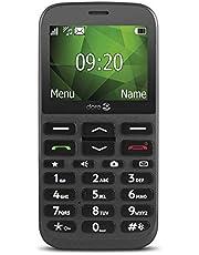 Doro 1370 GSM mobiltelefon med kamera (3 MP, HAC, Bluetooth), antracit