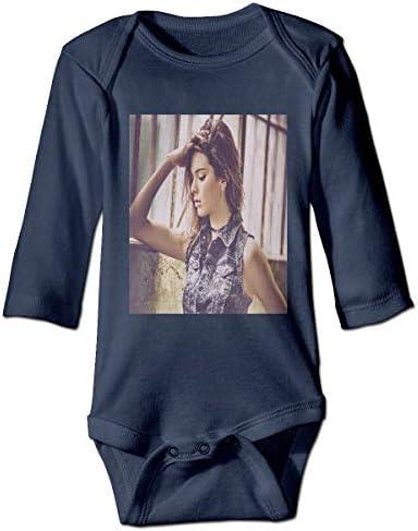 赤ちゃん長袖練習クロール衣装 モデルKendall Jenner 純粋な綿素材、赤ちゃんの肌を守り、温かく安全に保ちます