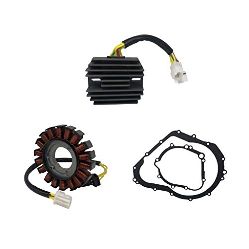 (SHUmandala STATOR&REGULATOR RECTIFIER&GASKET Replace for SUZUKI GSXR 600 750 2006 2007 2008 2009 2010 2011 2012)