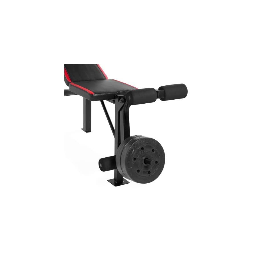 CAP Barbell Weight Benches w/ 100 Pound Weight Set (CAP Barbell FMS CS100 Standard Bench)